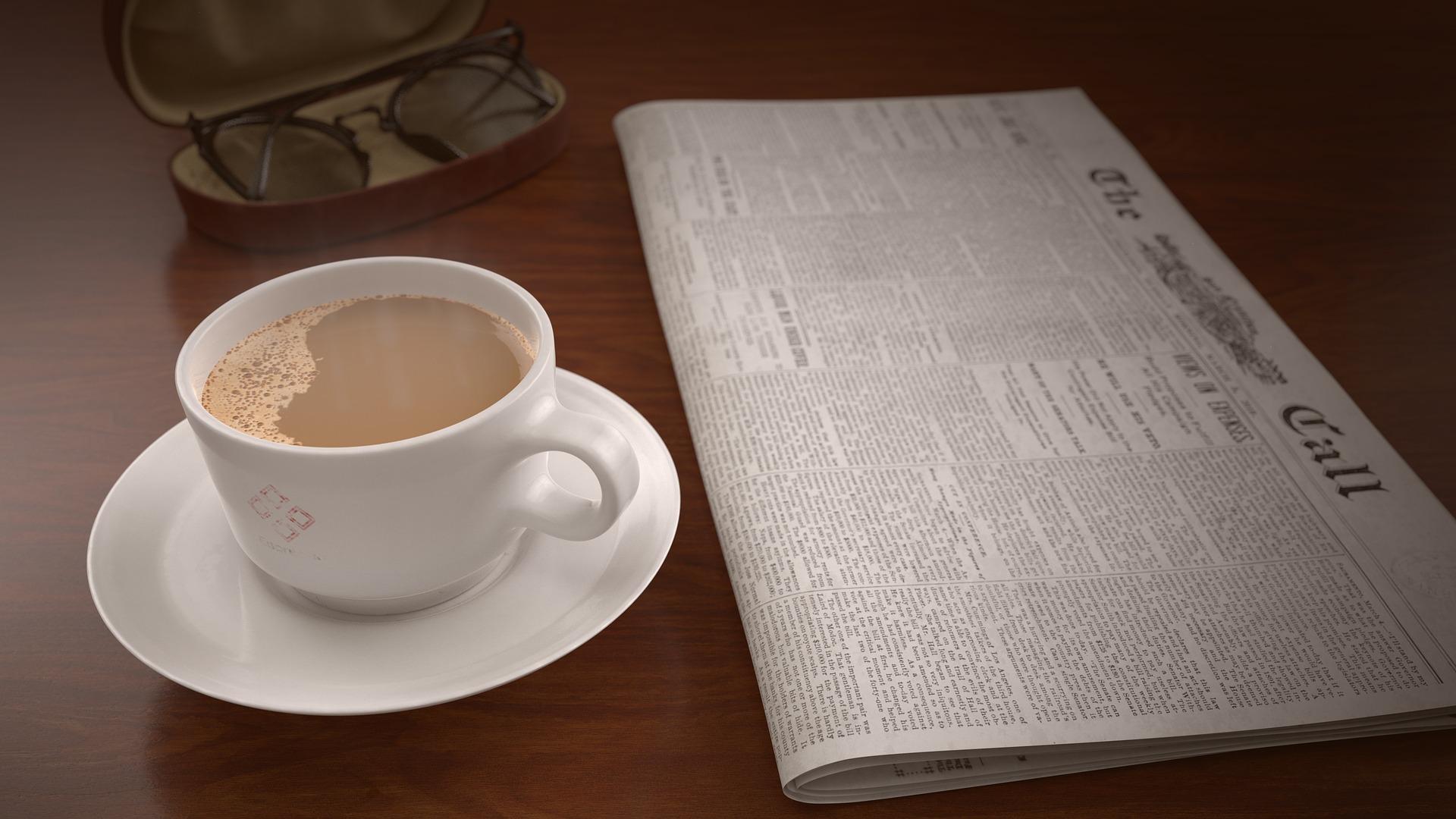 coffee-cup-newspaper